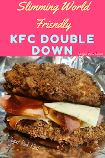 kfc doubledown slimming world recipes