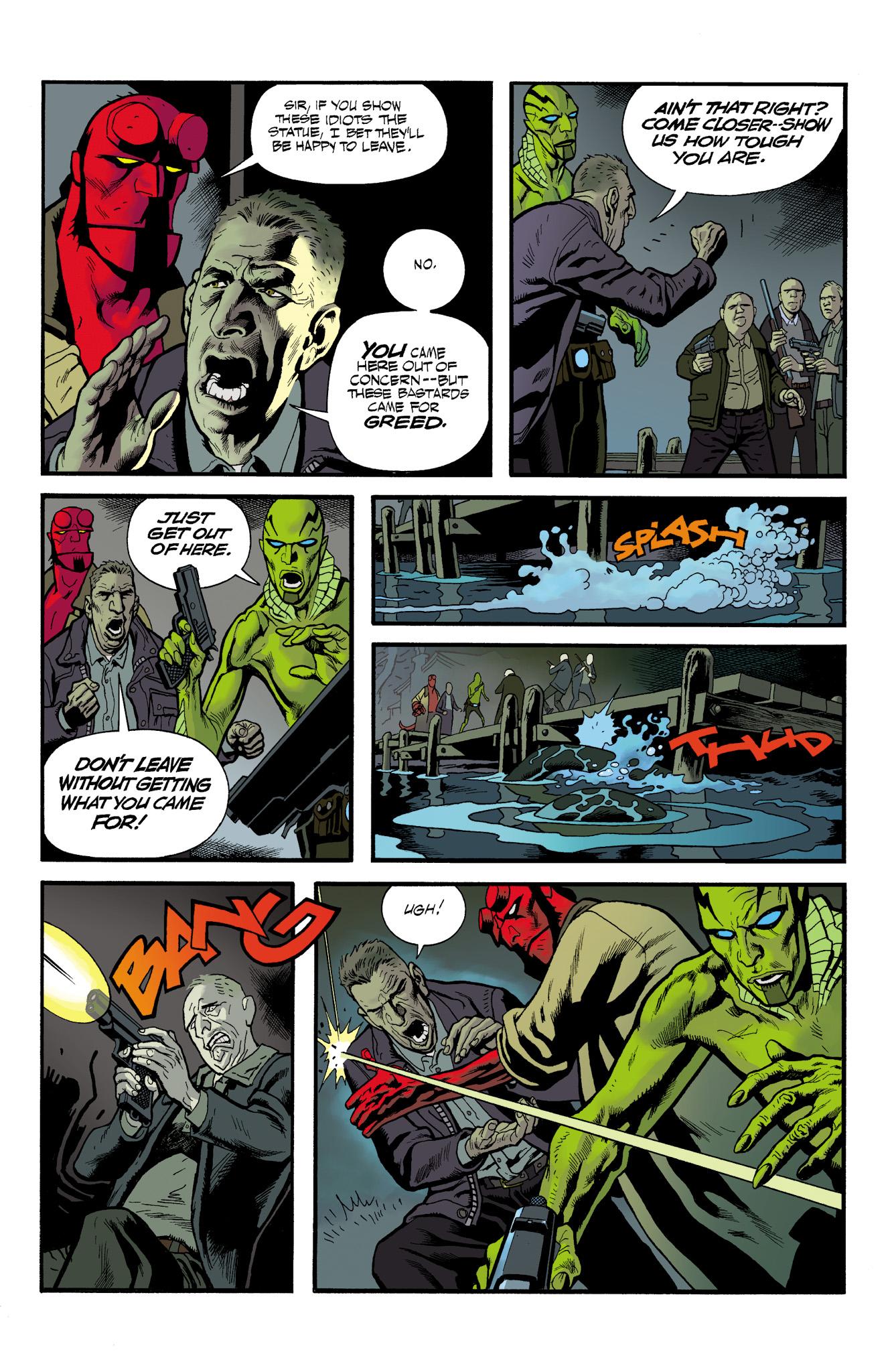 Read online Abe Sapien comic -  Issue #23 - 21