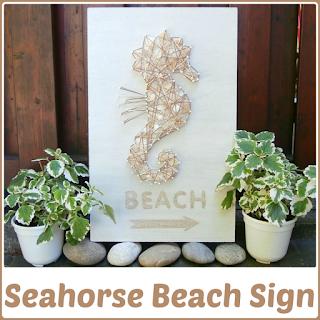 SeahorseBeachSign wesens-art.blogspot.com