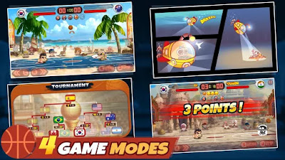 Download Head Basketball (updated v 1.5.0) (Mod Money) Apk Terbaru