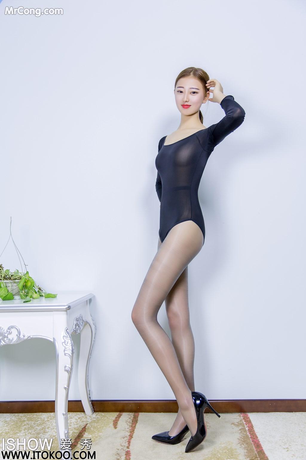Image ISHOW-No.151-Han-Zhi-Ying-Flora-MrCong.com-003 in post ISHOW No.151: Người mẫu Han Zhi Ying (寒栀樱Flora) (31 ảnh)