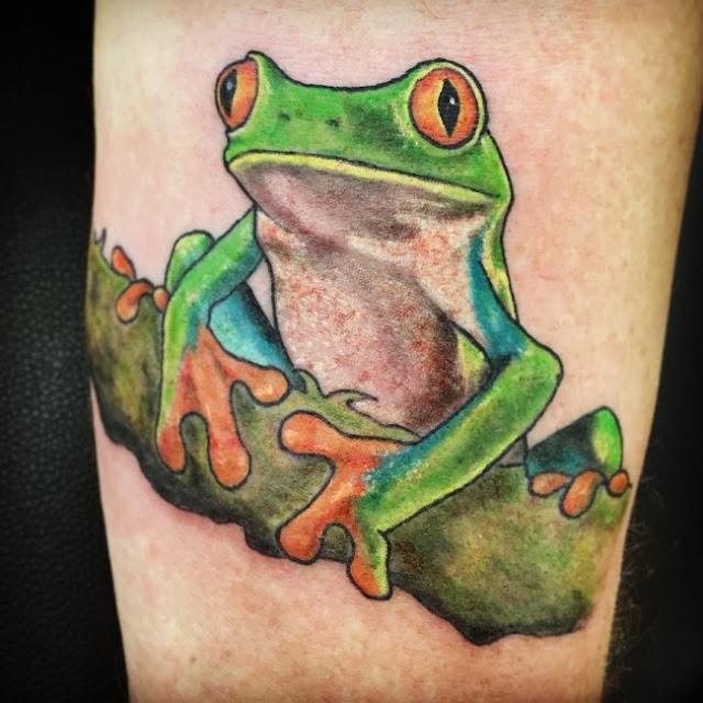 77 incríveis tatuagens de sapos!