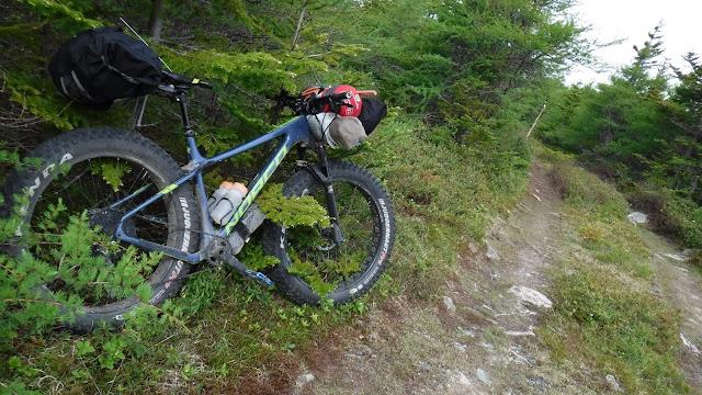 Arkel Rollpacker 25 bikepacking loaded up