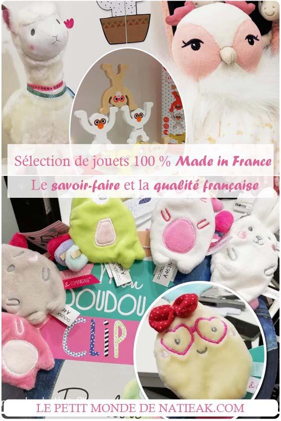 Sélection de jouets 100% français