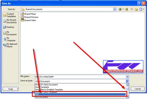 Tutorial Cepat Membuat File PDF Dengan WordOffice dan PDF Editor 1