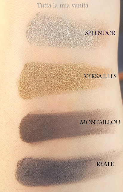 nars loaded palette swatches