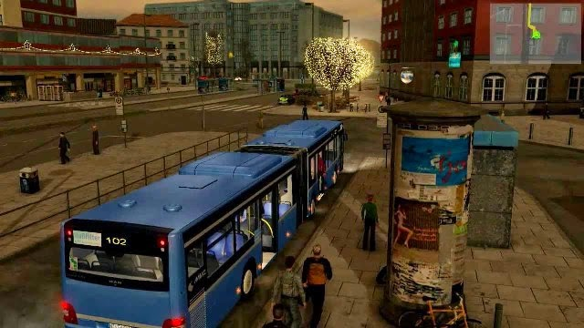 City Bus Simulator Munich PC Games Gameplay