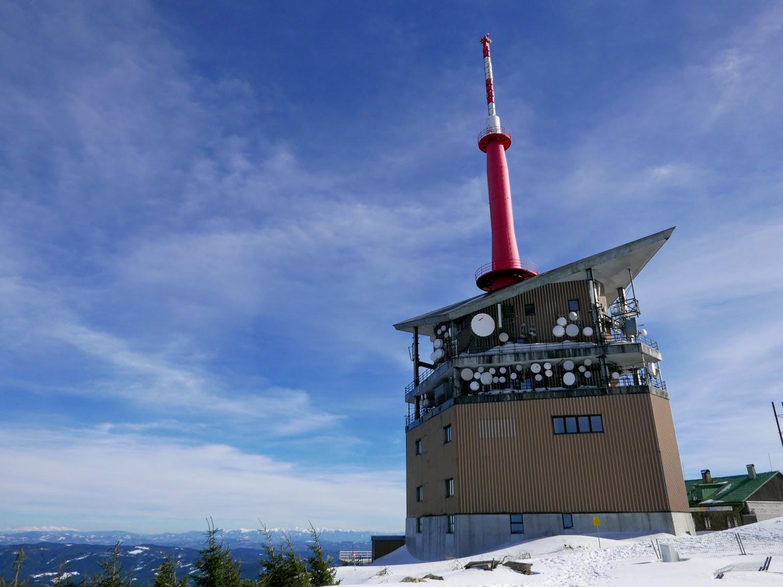 Łysa Góra wieża czechy