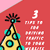Three tips for driving traffic to your website