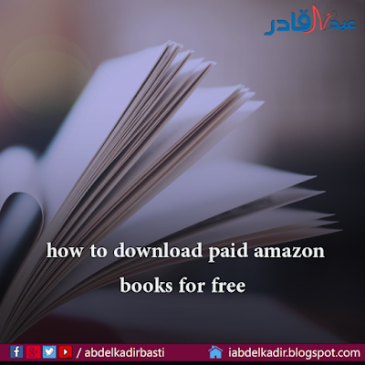 how to download paid amazon books for free