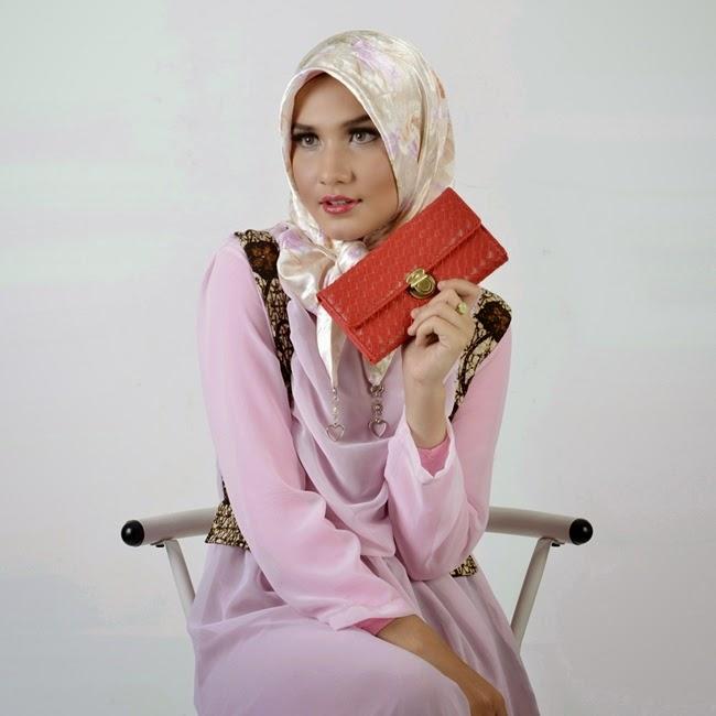 Dompet Wanita Dompet Lipat Modis Banyak Tempat Kartu Dompet Lokal
