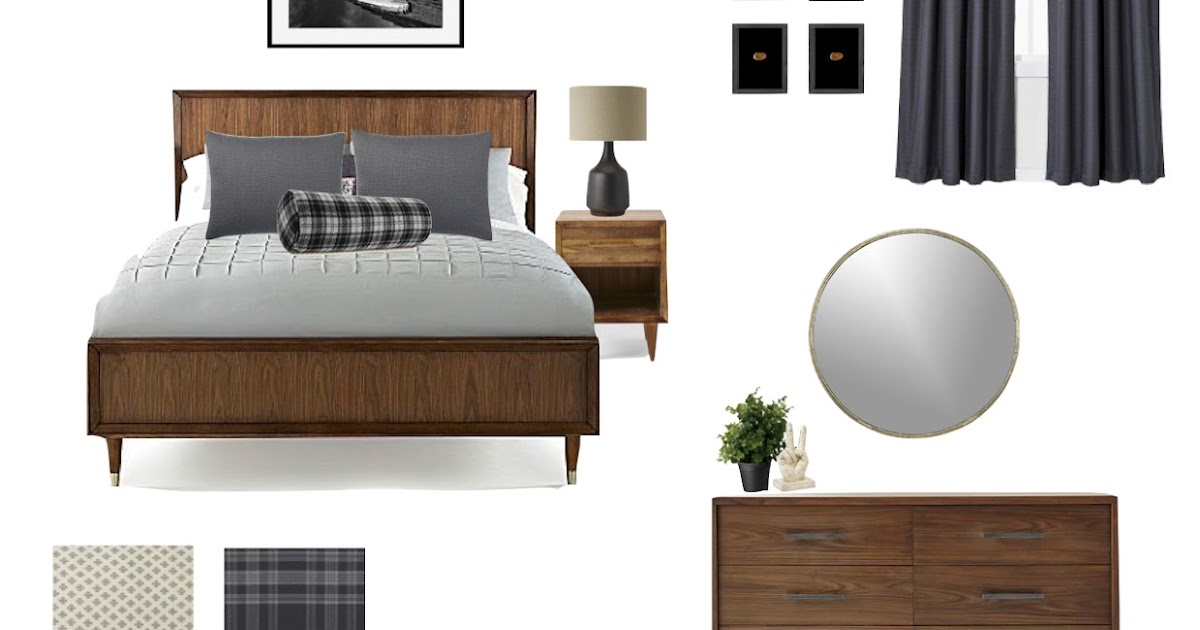 Design dump orc week2 design plan for grady 39 s grown up for Grown up bedroom designs
