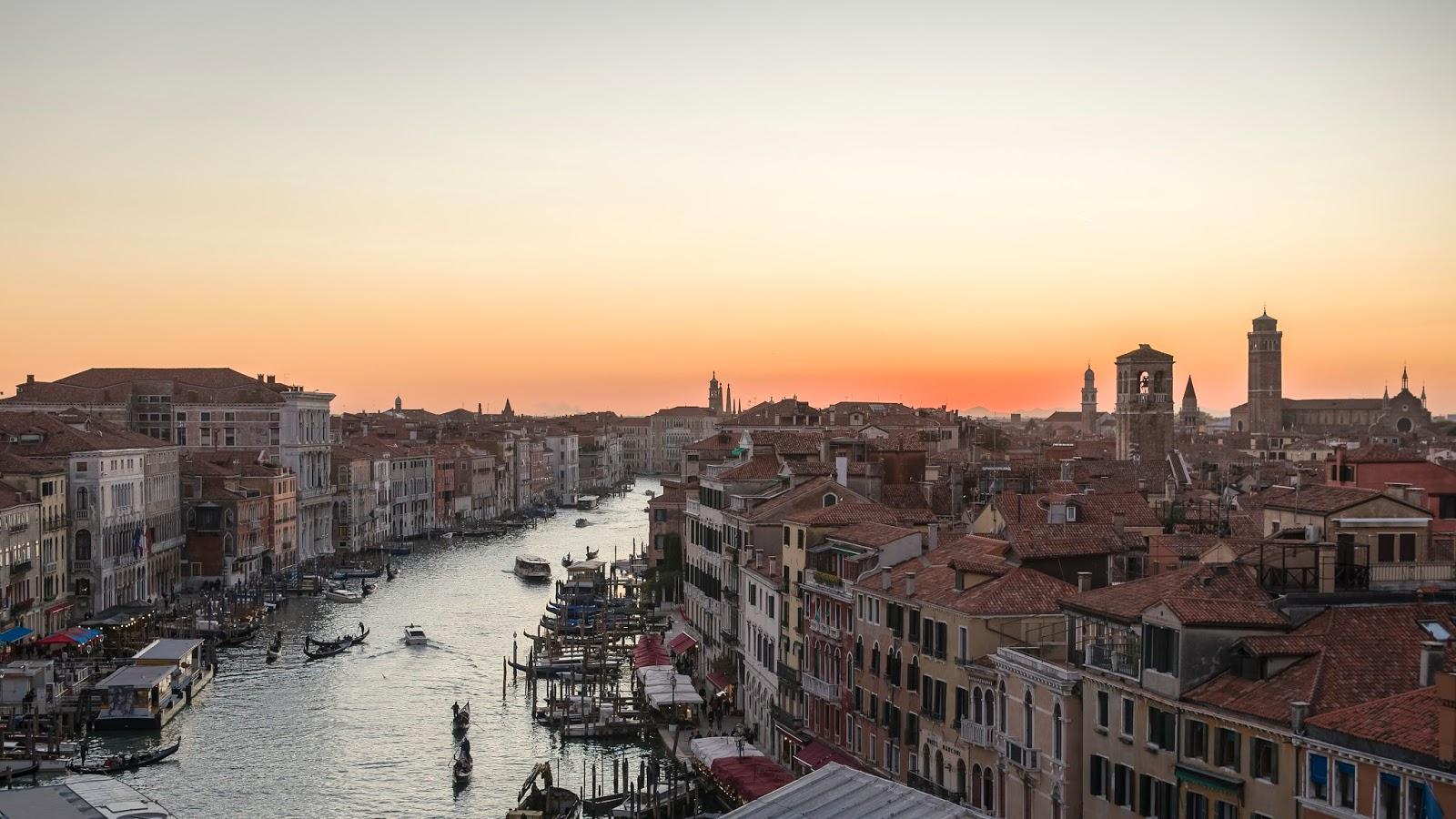Venice Terrace Coucher de Soleil Venise