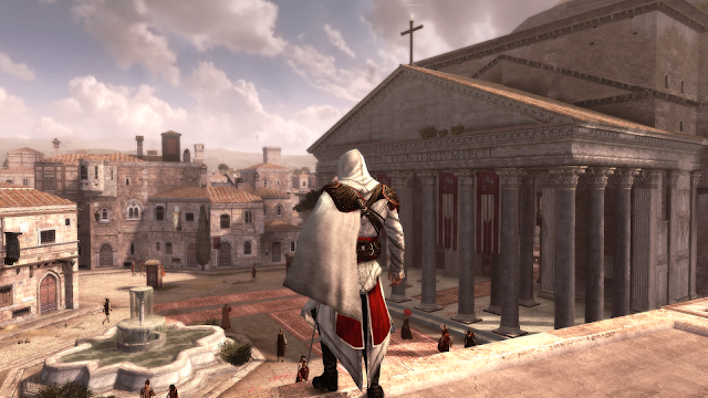 Assassin's Creed: Brotherhood - Xbox 360 - Captura 1