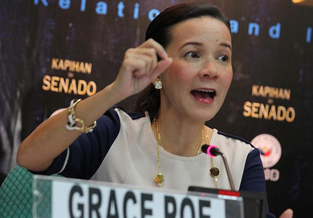 Image of Senator Grace Poe: The Fight is Not Yet Over