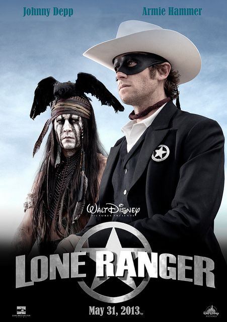 The Lone Ranger 2013 Dual Audio Hindi ORG 720p BluRay 1GB ESubs