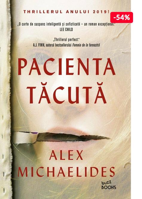 Oferta carte Alex Michaelides Pacienta tacuta