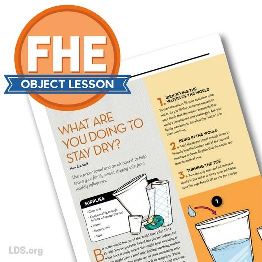 15 FHE New Era Object Lessons - Linda Winegar