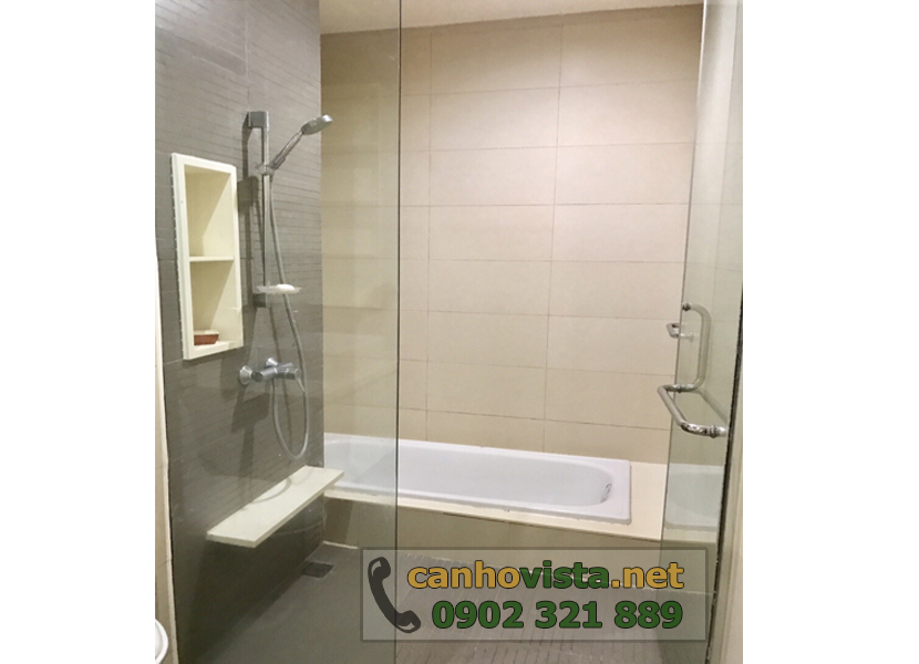 giá bán căn hộ the vista quận 2 - bồn tắm nằm