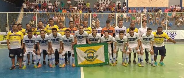 Horizonte Futsal consegue a 2º vitória no returno do Cearense de Futsal 2016.
