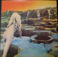 Led Zeppelin Houses Of the Holy Back Cover
