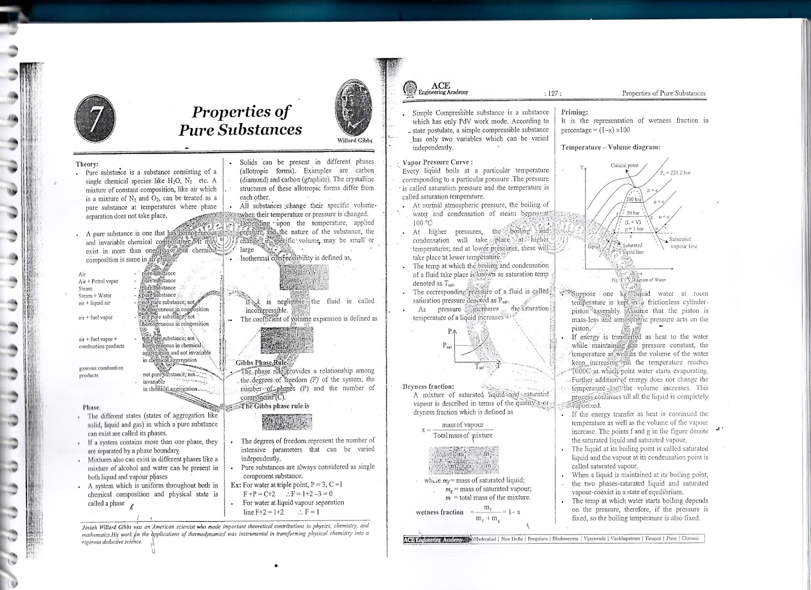 THERMODYNAMICS ACE ACADEMY GATE STUDY MATERIAL PART-2 FREE