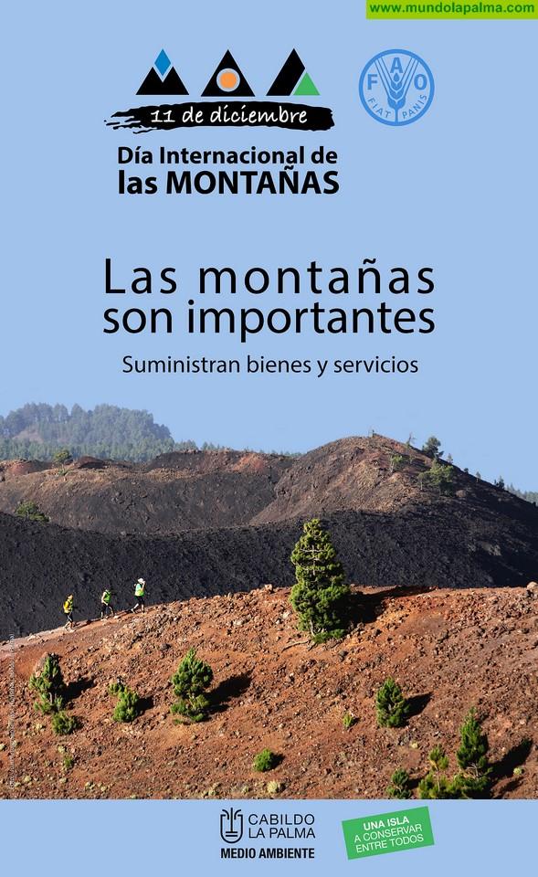 El Cabildo celebra el Día de las Montañas con una charla sobre vulcanismo y la presentación de un vídeo de los senderos de la isla