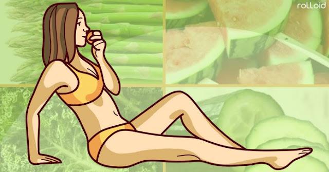 Alimentos sorprendentemente bajos en calorías y muy ricos en nutrientes