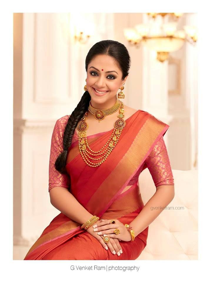 Jyothika Sarees Advertisement Photos Latest Photoshoot ~ ACTRESS RARE ...