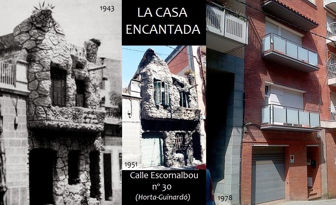 casas encantadas en barcelona
