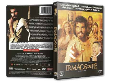 Capa DVD Irmãos de Fé