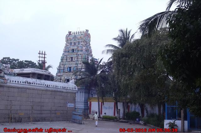 Tiruvanmiyur Siva Temple