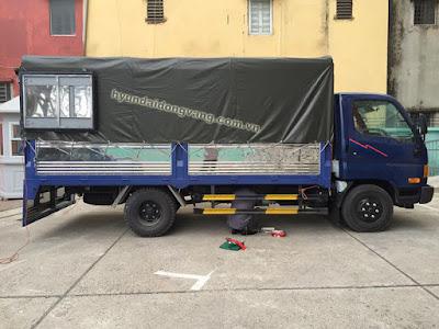 xe hyundai hd600 thùng bạt