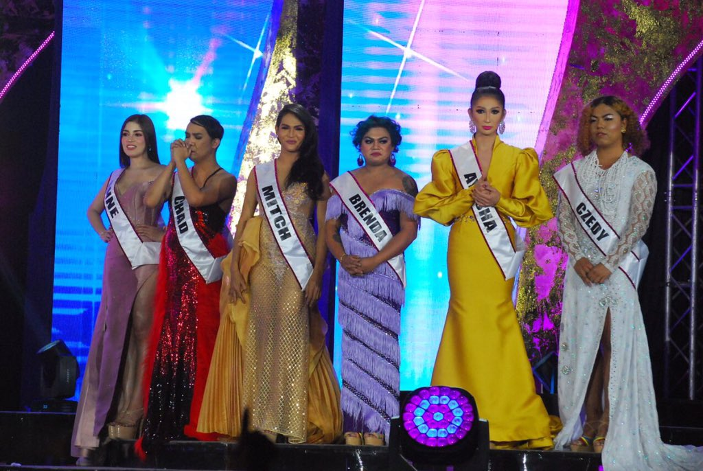 Miss Q and A Top 6 finalists