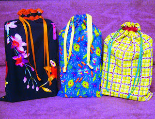 Shoe Box Drawstring Bag How-to Illustrated Tutorials