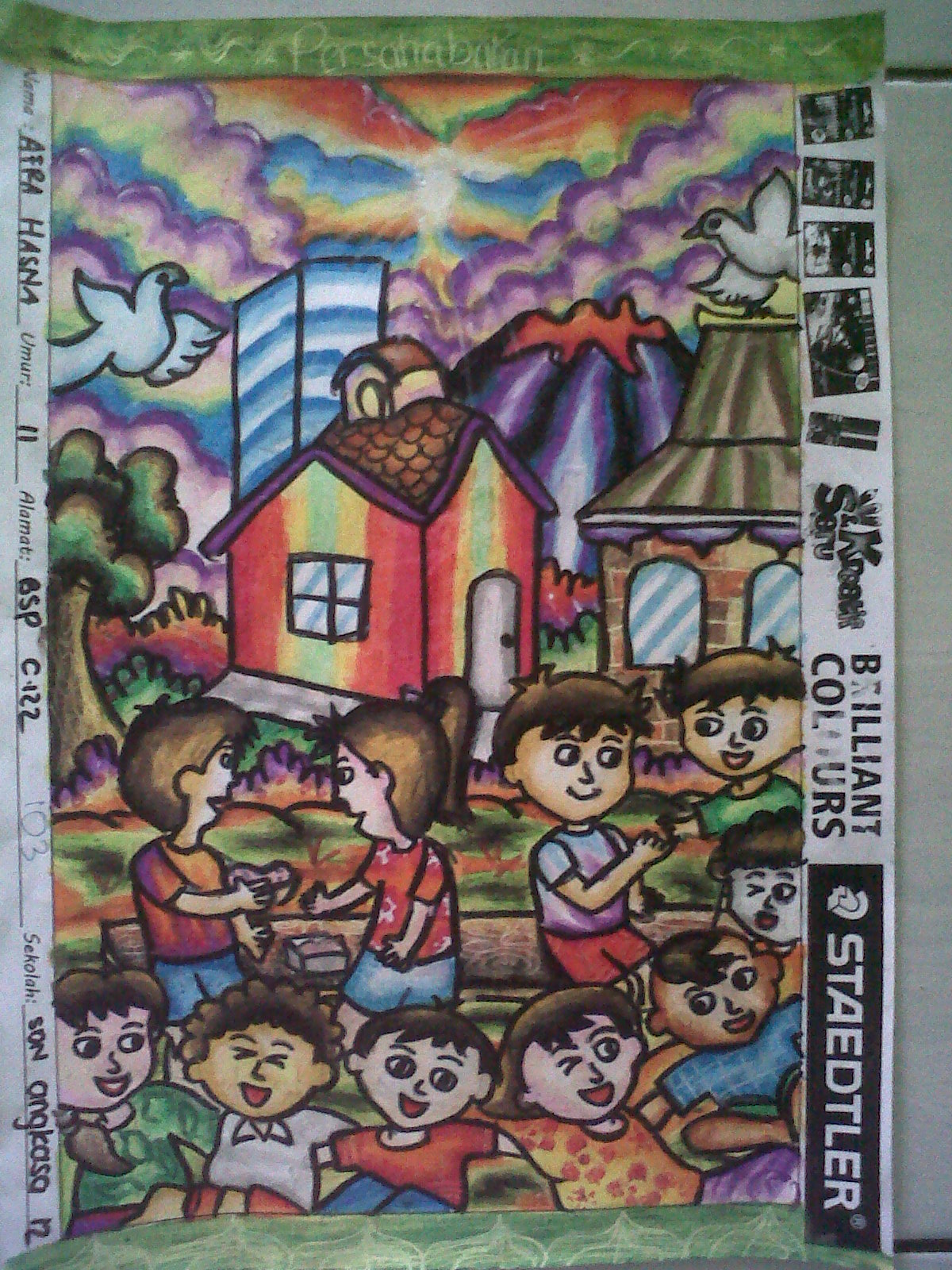 Lomba Menggambar Kreatif SD Kelas 4 6