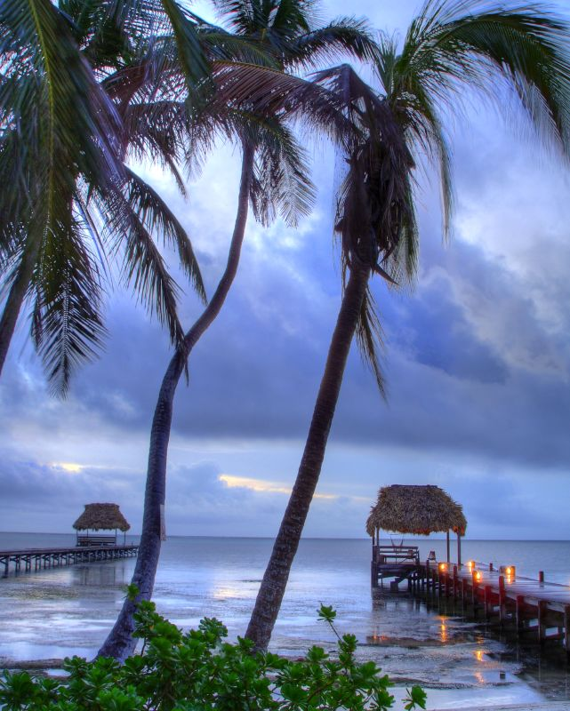 Many-to-Many - Sunrise After The Rain - San Pedro, Ambergris Caye, Belize