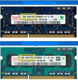 Perbedaan RAM DDR3 Dan DDR3L Pada Laptop