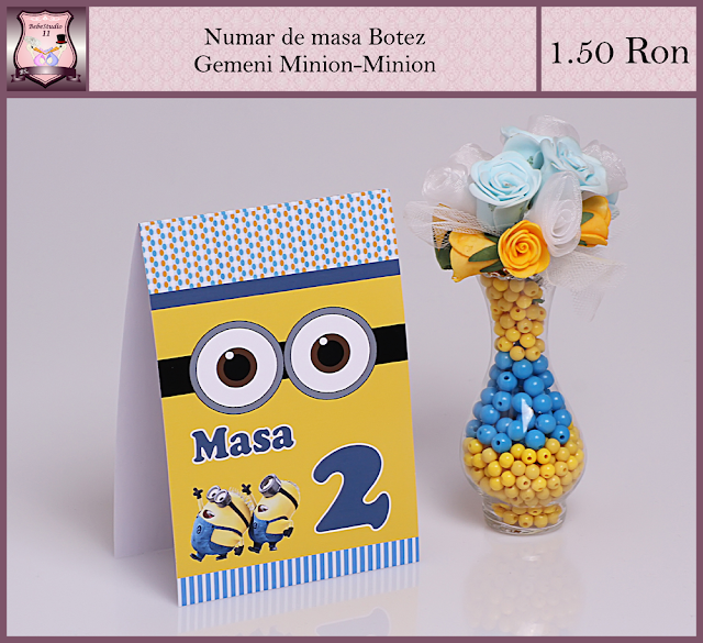 set botez gemeni minion
