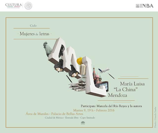 """Inicia actividades el ciclo """"Mujeres de letras"""" en el Palacio de Bellas Artes"""