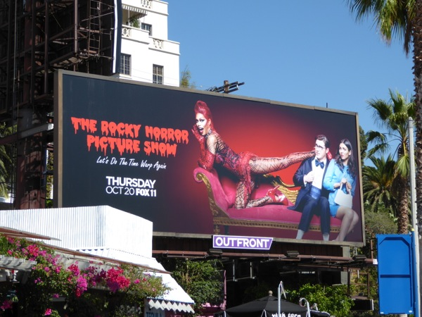 Rocky Horror Picture Show TV event billboard