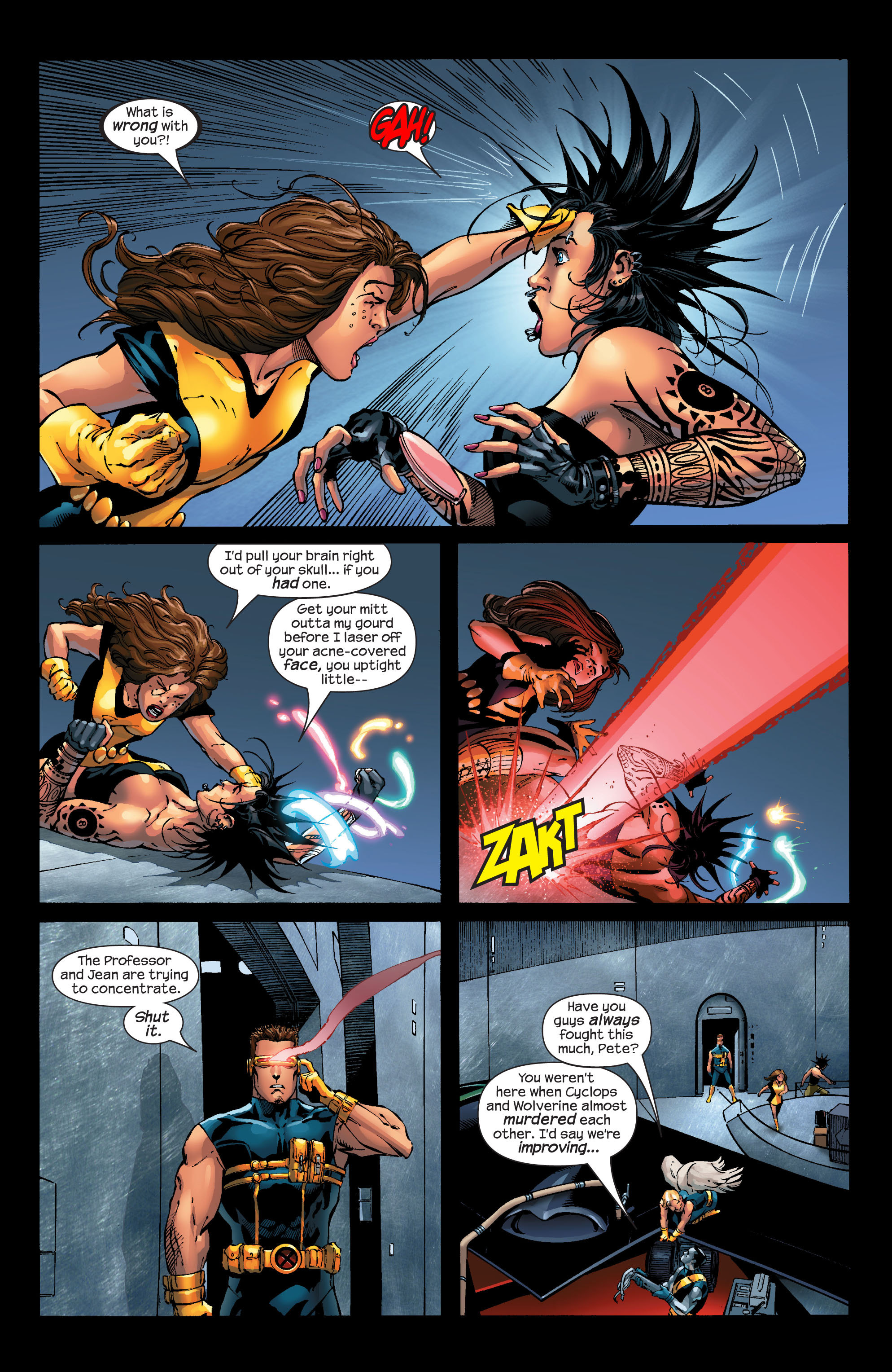Read online Ultimate X-Men comic -  Issue #52 - 15