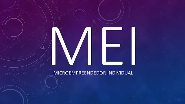 MEI microempreendedor individual