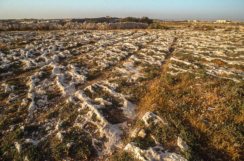 Clapham Junction is a prehistoric megalithic monument to the east of the Dingli rocks in the south-west of the island of Malta.