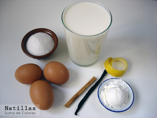 Natillas-ingredientes