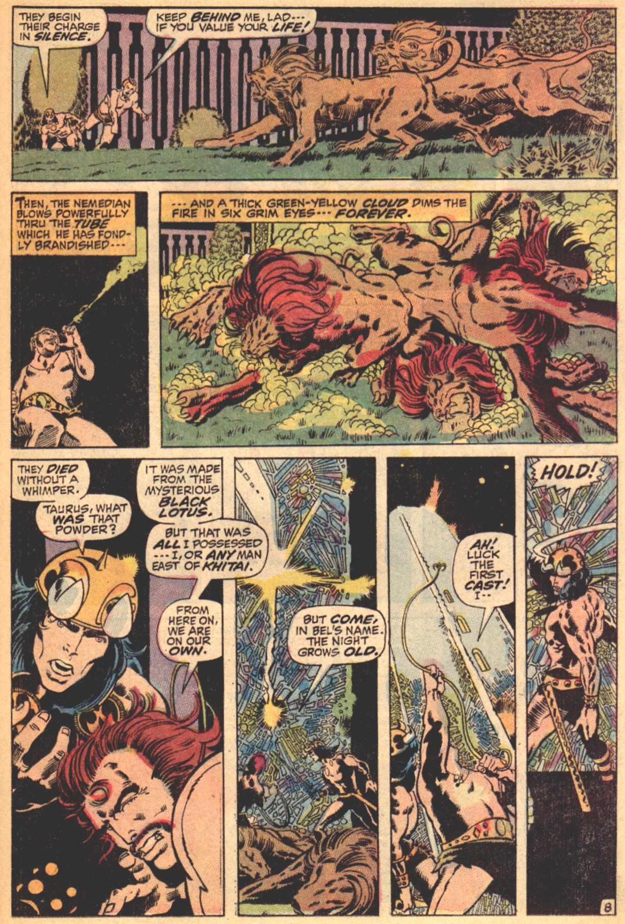 Conan the Barbarian (1970) Issue #4 #16 - English 9