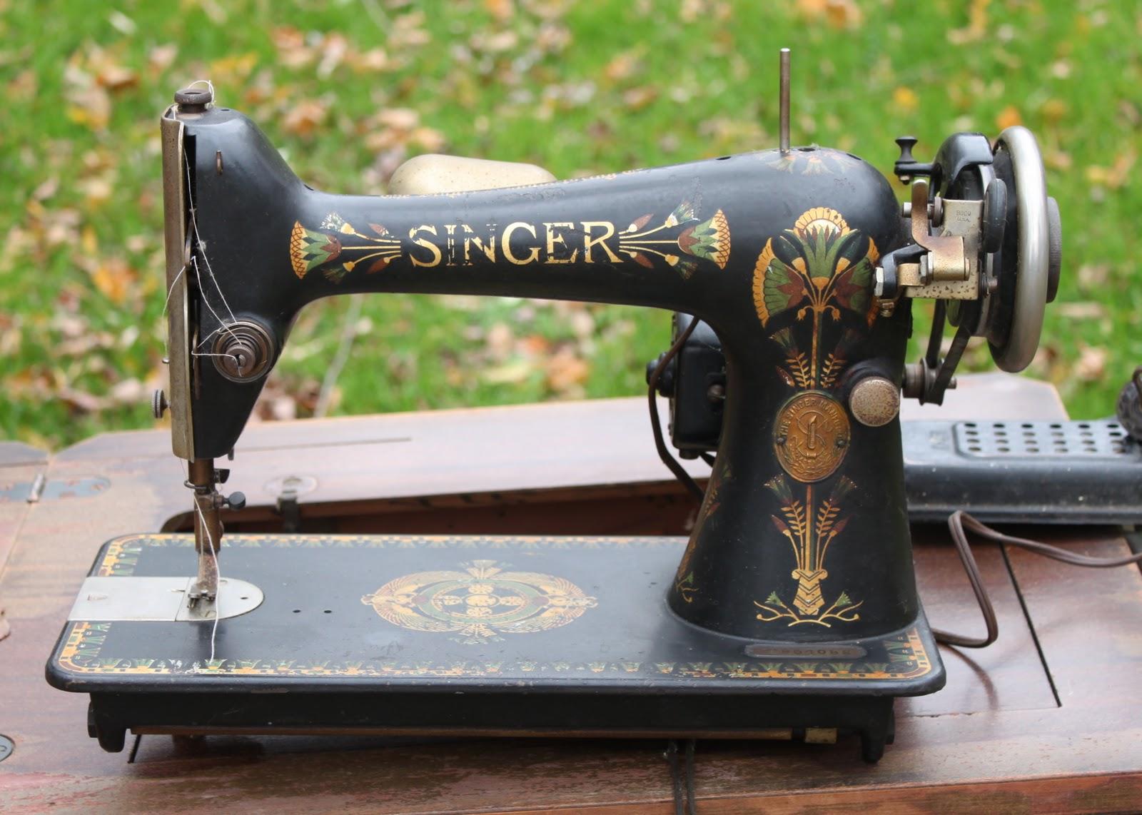 singer sewing machine 66