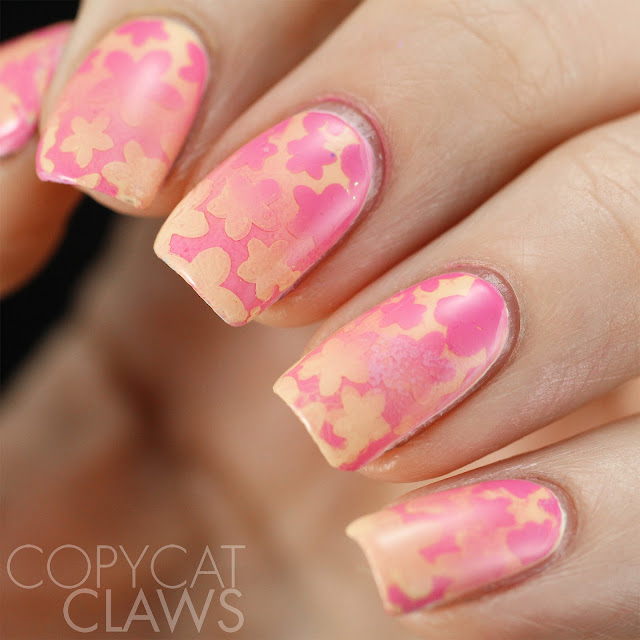 Whats Up Nails Bloom Stencils