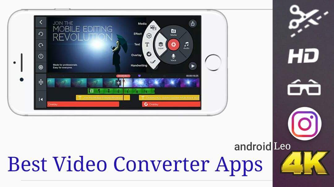 free total video converter and editor apps for Android mobile users top 8 amazing video converter apps for Android(Best in 2018)