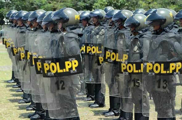 Peningkatan Kapasitas Sumber Daya Manusia Polisi Pamong Praja